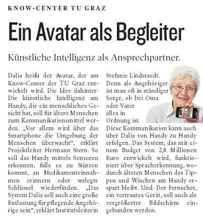 Kleine Zeitung, 20.06.2013